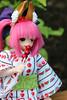 chomp chomp (Yami Usagi) Tags: mini fate yukata kimono knee length extra caster pureneemo