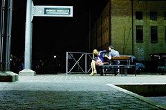 Don't touch me, I don't care! (IT-nok) Tags: street boy italy woman man color guy girl night photography donna fight couple strada italia colore uomo blond arguing blonde perugia notte busstation umbria ragazza coppia ragazzo quarrel bionda 2013 litigio autostazione litigare simoneconti itnok contisimone fujipad
