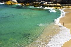 Tamarama (Camila Se photography) Tags: ocean sea woman seascape beach nature coast sydney australia nsw tamarama beachlifestyle