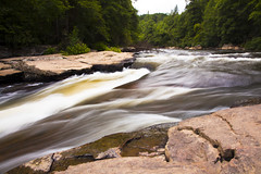 Rushing water (Explore 8/2) (doveoggi) Tags: longexposure river maryland explore 5905 swallowfallsstatepark