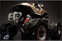 HALO/HW Crossover: Monster-Hog (Symon-006) Tags: halo hotwheels megabloks warthog
