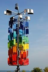 Kreuzlingen - Windspiel am See (2) (Pixelteufel) Tags: schweiz switzerland modernart kunst urlaub skulptur bodensee ferien freizeit constance tourismus windspiel kreuzlingen lakeconstance erholung ruhe