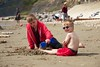 happy together on the beach (mumography) Tags: life uk family summer vacation england people holiday beach boys childhood fun seaside europe child joy adventure realpeople