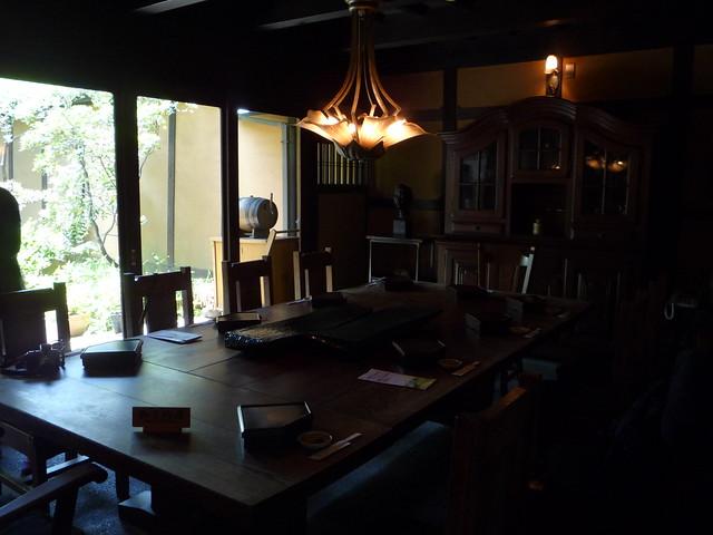 お昼ご飯は古民家を改修した、あちの郷つね家というところで食。|あちの郷 つね家