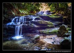 Leura Cascades & Bridal Veil View - Leica DLux4 0645 (Gary Hayes) Tags: blue mountains veil falls waterfalls cascades bridal leura