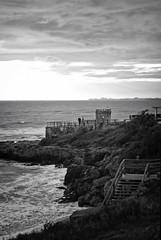 Due (Conchilla Mrquez Gmez) Tags: people love byn beach canon eos mar mediterraneo silence blackwhitephotos canon550d