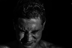 Self-portrait (Michael Donatone) Tags: bw selfportrait water michael portait acqua bagno soffocare 60d affogo affogare disperzione donatone michaeldonatone