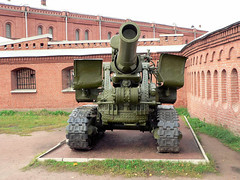 "203mm B-4 Howitzer (2) • <a style=""font-size:0.8em;"" href=""http://www.flickr.com/photos/81723459@N04/9965000544/"" target=""_blank"">View on Flickr</a>"