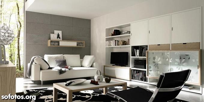 sala de estar planejada