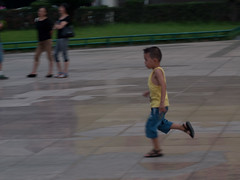 Running in the park (David R. Crowe) Tags: china guilin places running games panning techniques guangxi childrensplay