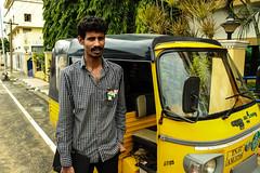 Annadurai (Govardhan J) Tags: people amazing chennai autodriver annadurai