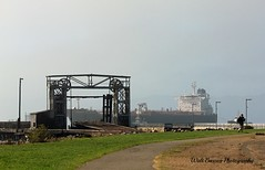 Overseas Los Angeles_001 (Walt Barnes) Tags: weather fog canon eos boat ship foggy vessel richmond calif oil tanker oiltanker sanpablobay 60d canoneos60d eos60d overseaslosangeles wdbones99