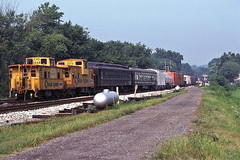 Strange Looking Rear End (ahall4370) Tags: trains caboose co bo railroads csx chessiesystem
