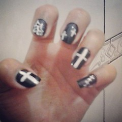 unhas halloween (Rauyse Forte) Tags: black love halloween nail unhas fofas nailart clubedoesmalte