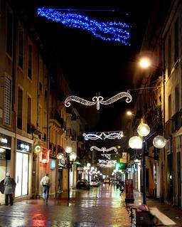 Sète (34), illuminations 2008