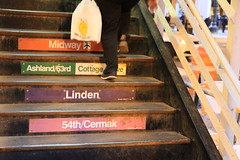 upstairs (jomaot) Tags: city usa chicago station stairs illinois shoes downtown cta steps upstairs stadt amerika innenstadt washingtonwells chicagol jomaot