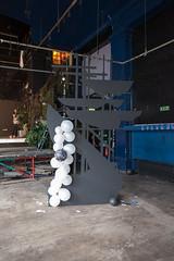 Sam Derunian (artschoolscottst) Tags: party art theend installation gsa destroy toiletroll thevic glasgowschoolofart checkeredfloor theartschool gsoa theassemblyhall samderunian