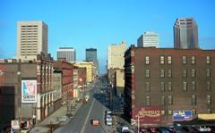 Warehouse District Horizontal (Thom Sheridan) Tags: old ohio vintage photo cleveland stclairavenue