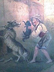 See a Boy Bully A Cat and Dog (outlier.babe) Tags: boy dog cat carson carousel oddities kit merrygoround frighten kitcarson