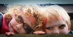 Indie and Art 1 (Mr Moss) Tags: friends monster pair indie facepaint