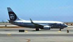 Alaska Airlines Boeing 737-790 N615AS (Mark 1991) Tags: sanfrancisco alaska sfo boeing 737 alaskaairlines sanfranciscoairport n615as