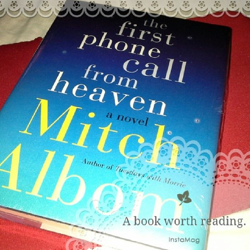 Mitch Albom book fan photo