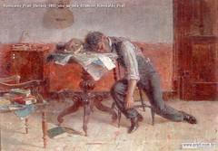 Romualdo Prati Ubriaco 1892 olio su tela 62x86cm Romualdo Prati