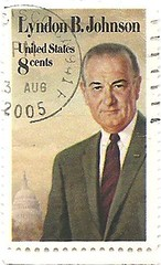 USA stamp - death of former president Lyndon B Johnson (sftrajan) Tags: usa unitedstates stamps president stamp timbre inmemoriam postagestamp philately sello briefmarke  francobollo lyndonbjohnson