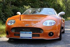2009 Spyker C8 Spyder (vetaturfumare - thanks for 1 MILLION views!!!) Tags: orange ny olive upstate spyder reservoir chrome ashokan 2009 sportscar roadster spyker c8 shokan
