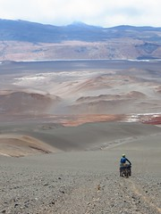 The mad descent to the Salar de Antofalla