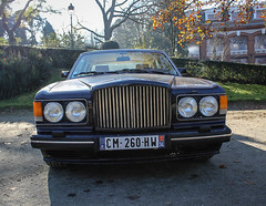 Bentley (xwattez) Tags: park old france english car automobile jardin grand voiture british transports toulouse bentley ancienne rond véhicule anglaise 2013 boulingrin