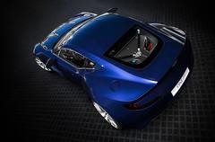 Aston Martin One-77 (nbdesignz) Tags: blue england 6 hot sexy cars beauty car digital martin edited sony gimp gran british turismo supercar aston gt6 v12 polyphony ps3 playstation3 gtplanet one77 nbdesignz