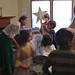 The young church school classes sang 'The Friendly Beasts' to celebrate the Christmas Feast.
