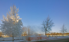 Aurinkoinen pakkaspiv (-18c)  -  A sunny, cold winter day in Turku Finland (rkp11) Tags: cold suomi finland landscape frost turku freezing noon midday gel 20c tammikuu matin 2014 bo frostedtrees  coldwinterday pakkanen pakkasta maisemakuvia  keskipiv turkuuniversityhospital  huurteisetpuut lumia1020 kuviaturusta photosfromturku hmeentieturku tavastlandsvgenturku turunyliopistollinensairaala