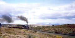 R4282. 15AR approaching Graaff Reinet. 1st September,1972. (Ron Fisher) Tags: sas sar narrowgauge 482 graaffreinet schmalspurbahn 15ar southafricanrailways voieetroite capegauge 36gauge southafricansteam