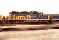 CORWITH YARD (rrradioman) Tags: chicago santafe 1974 illinois il atsf corwith 3170 gp20