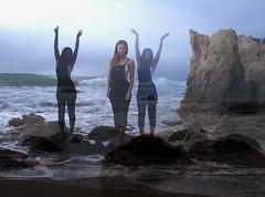 (samosborne15) Tags: ocean california sea beach girl rocks waves dress wave malibu dresses overalls seafoam elmatador flynnskye