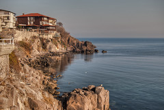 Sozopol (Mercy^) Tags: autumn winter sea summer england sun house holiday building bird london home beautiful up birds stone wonderful season landscape hotel spring amazing cool rocks europe day view place sunny bulgaria enjoy scape hdr trourist sozopol ncg bourgas higjt