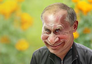 Vladimir Putin - Caricature