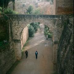 (rafael.spinola) Tags: espaa spain andalucia alhambra granada handheld nophotoshop 2014 yashicamat124g alandalus fuji160ns rafaelspinola