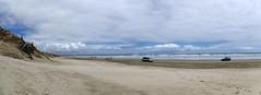 90 mile beach pano 3 (Bilderschreiber) Tags: sea newzealand panorama beach nature strand coast sand meer natur northisland lonely northland 90 mile neuseeland einsam ninety nordinsel