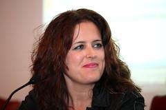 Rosana Güiza, moderadora del acto