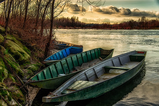 Boats at docking