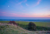 Twilight over the South Downs (JKS1988) Tags: moon downs sussex twilight nikon south devils sigma adobe dyke 1020 topaz lightroom portslade d60 denoise
