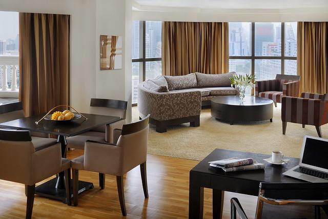 バンコクの高級ホテル:タワー クラブ アット ルブア