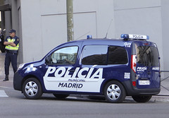 Nueva Renault Kangoo Policia municipal de Madrid (juanemergencias) Tags: