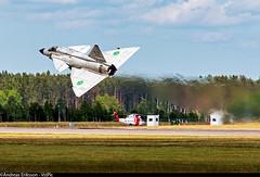 SE-DXN (37098) Saab AJS37 Viggen Swedish Air Force Historic Flight (Andreas Eriksson - VstPic) Tags: force air flight swedish historic saab viggen 37098 ajs37 sedxn