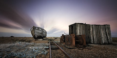 Dungeness (richard carter...) Tags: longexposure sunset sky dungeness 1635 canoneos5dmk2