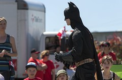 Batman (Clayton Perry Photoworks) Tags: costumes people canada vancouver bc richmond parade celebration canadaday steveston floats happycanadaday