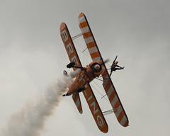 Breitling8 (Salisbury Squared) Tags: biplane stearman aerobatics breitling bigginhill wingwalkers festivalofflight